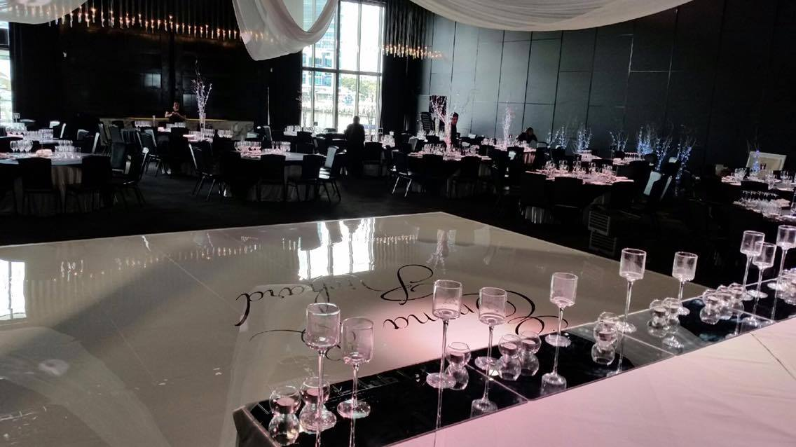gloss white dance floor peninsula Melbourne